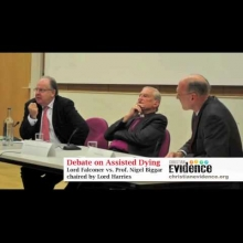 Embedded thumbnail for Assisted Dying Debate