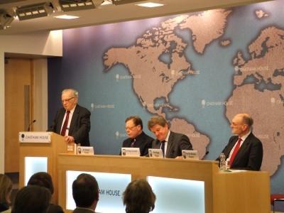 Nigel Biggar debated the justice of the Iraq War