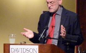 Nigel Biggar delivered two lectures
